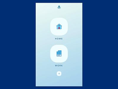 Octoport - IoT App - Location UI ui design app design product design ux ui temperature music mobile app iot octoport