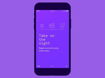 Blockparty - Blockchain App Mobile UI react ios sketch mobile design ux ui blockchain
