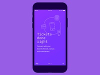 Blockparty - Blockchain App Mobile UI