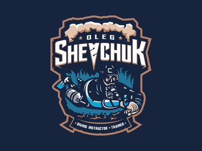 Oleg Shevchuk sea ocean diving logotype logo