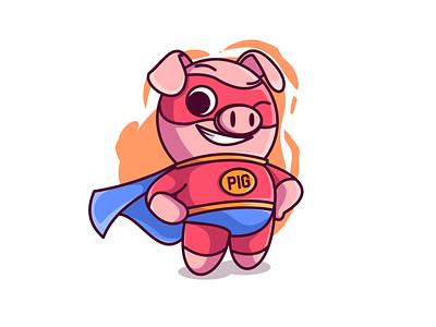 PigMan.!! characterdesign cute illustration cute animal illustration design digitalart character drawing characters illustration art