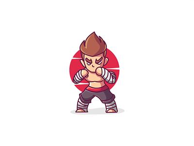 FIGHTER.!! illustration fighter digitalart design characters characterdesign illustration art
