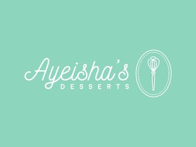Ayeisha's Desserts Logo