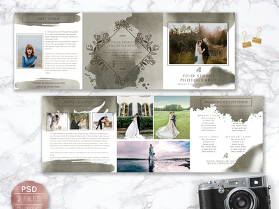 Wedding Photography Pricing Design