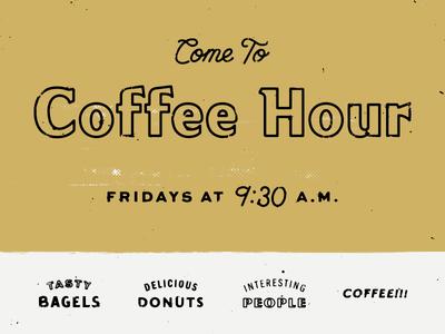 Coffee Hour Ad