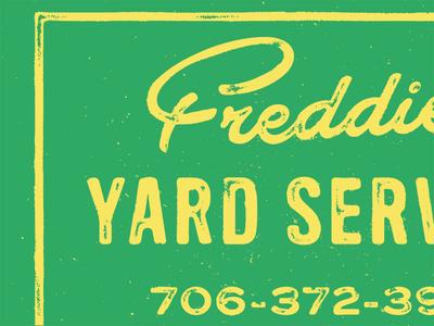 Freddie's Yard Service