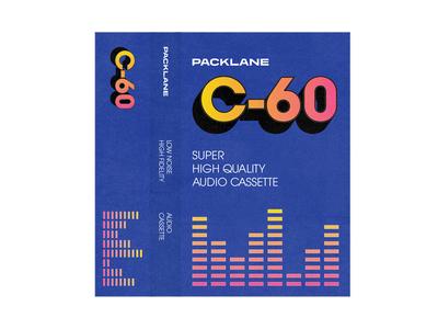 Cassette insert retro texture cassette