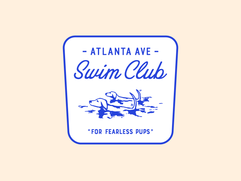 Atlanta Ave Swim Club dogs