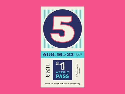 Ticket 2 typography