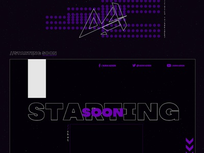 Stream Designs Ark4der logo ark4der gaminglogo obs twitch overlays twitch panels twitch overlay twitch panels webcam gaming streaming app streaming starting soon be right back stream ending