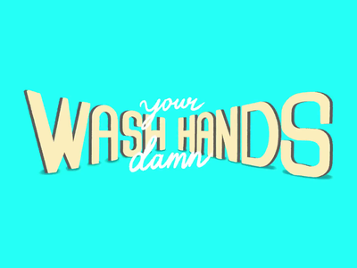 Day 32: 100 Days of Hand Lettering process video process blue ipad procreate type 100dayproject lettering hand lettering design typography illustration