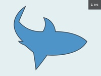 Freebie: Shark Illustration