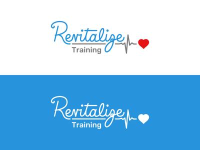 Revitalize Training Brand Identity