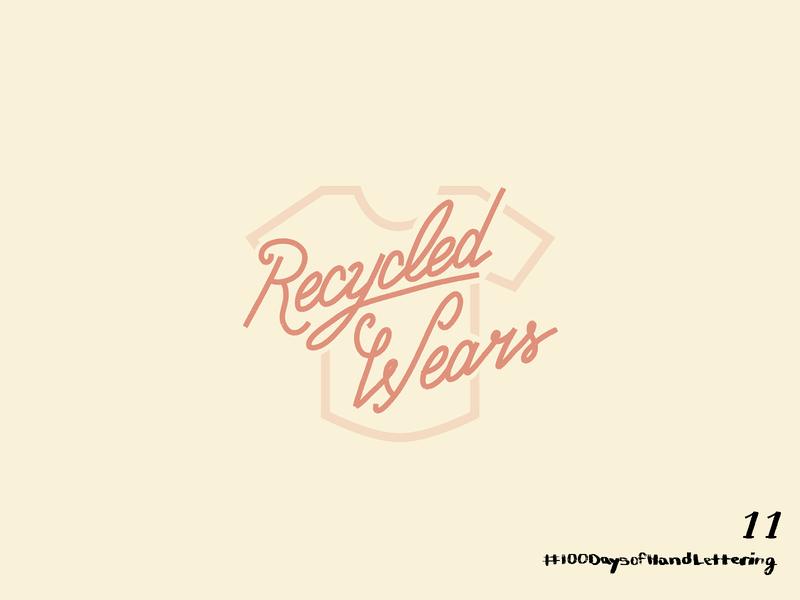Day 11: 100 Days of Hand Lettering branding adobe 100dayproject lettering hand lettering design iconography icon illustration logo typography