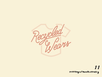 Day 11: 100 Days of Hand Lettering branding adobe 100dayproject lettering hand lettering design iconography icon illustration logo typography