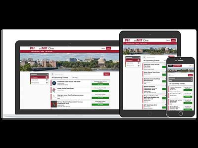 Responsive Web Ticket Platform saas responsive university college ticketing web tickets