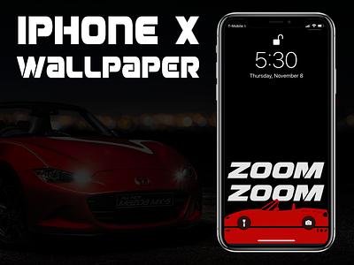 Iphone X Miata Car Wallpaper car miata wallpaper iphone x iphone