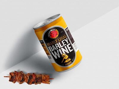 Beer Can Mockup 3d mockup mockup mockups can mockup beer can mockup