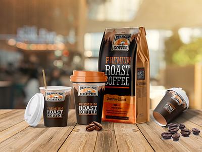 Premium Coffee House Scene Mockup cup mockup mockups mockup coffee cup mockup coffee mockup
