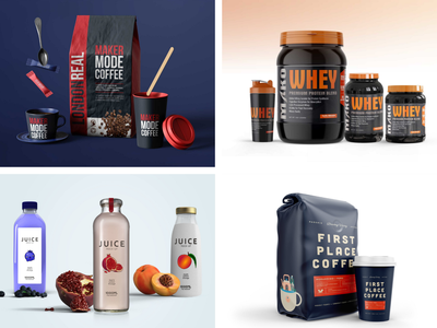 Packaging Mockups Collection whey protien mockup coffee mockup mockup mockups packaging mockup