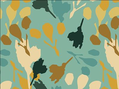 Atlanta Walk vector surfacedesign illustration design art textiles fabric floral pattern botanical