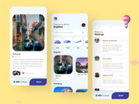 Travel Application - User Interface Design