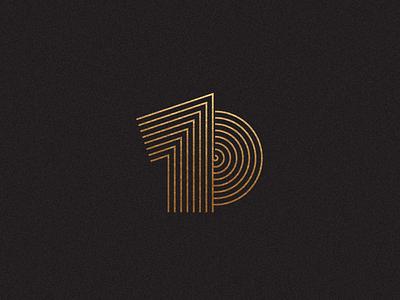 Camp Technical Solutions - 10 Year Anniversary mark vector design illustrator minimal graphic design identity branding logo