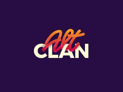 ALT CLAN design community custom type lettering typography vector design illustrator type graphic design identity branding logo