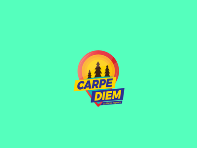 Carpe Diem (TV Show) show tv outdoor gradient color rebranding badge icon mark branding identity logo