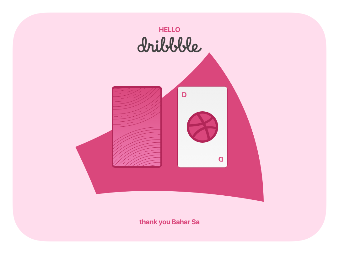 Ready for play! play icon ball smooth play cards hello dribbble