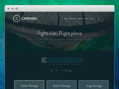Cardwee - Plans & Prices Page (New)