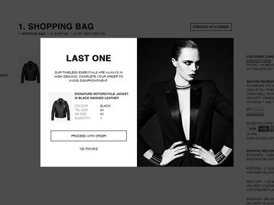 YSL Remarking Modal responsive fashion ui modal popup prompt