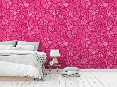 Hello Dribbble | Wallpaper pattern designer interior design first shot wallpaper pink dribbble debut geometric surface pattern design surface pattern pattern