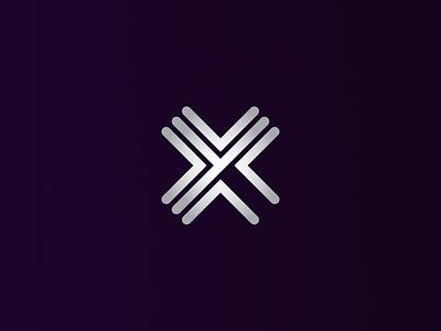 X + Y  (version 2) xy monogram mark logo internet graphic branding azanti