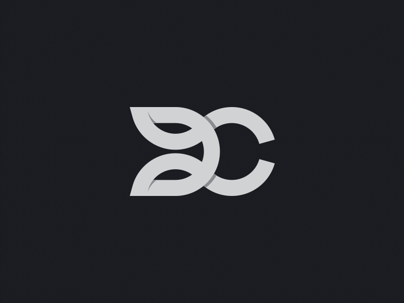 D+C monogram letters identity graphics azanti branding logo monogram c d