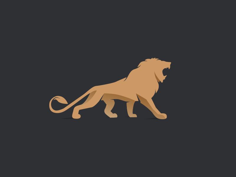 Snyder Global luxury gold roar identity branding power snyder global logo lion