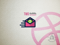 2 Dribbble Invitations available.