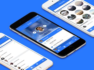 Contact Management app