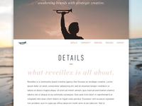 Reveillex Splash Page Preview