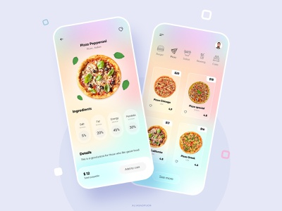 Fast food application daily ui ux dailyui fima xd designer pizza restaurant app fastfood app design ui designer uidesign uiux ui  ux ui design ui