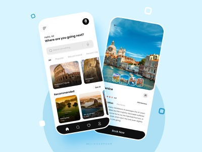 concept design of travel app perfect minimal typography travel app travel aliasadpuor ux ui designer ui design uidesign dailyui app design uiux ui