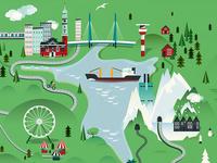 Wonderland map
