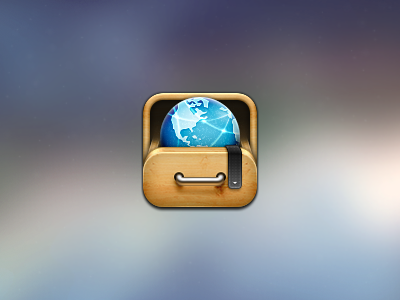 App icon for dribbble