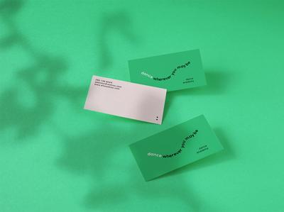 Photorealistic Business Card Mockup Vol 7.0 showcase corporate dancing studio brand visualidentity businesscards businesscard template elegant minimal modern creative design clevery stationery branding identity mock-up mockup
