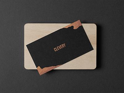 Photorealistic business cards mockup black edition by clevery photorealistic business cards mockup colourmoves