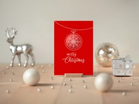 Photorealistic Invitation & Greeting Card Mockup Vol 5.0