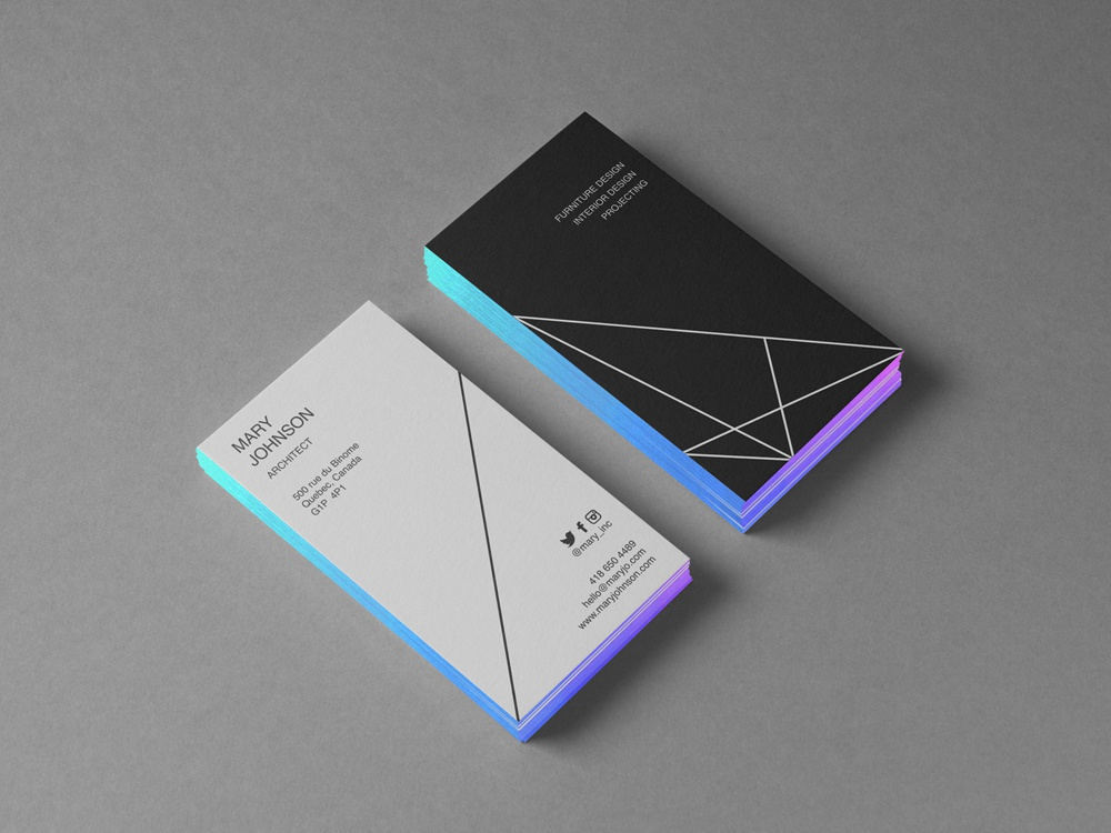 Business Card Mockup By Clevery On Dribbble