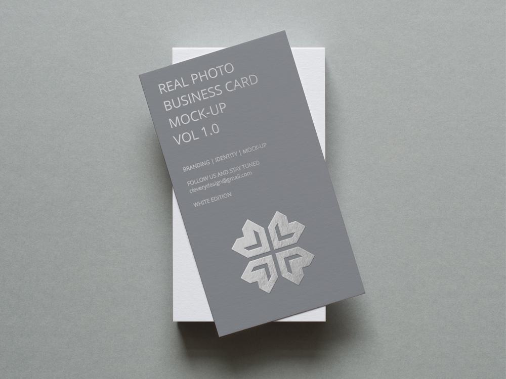Business Card Mockup elegant modern creative corporate brand branding stationery identity minimalistic minimal logo design card cards business cards business card clevery photo mock-up mockup