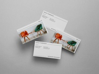 Photorealistic Business Card Mockup Vol 6.0