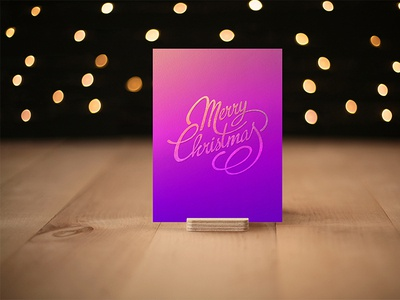 Photorealistic Invitation & Greeting Card Mockup Vol 7.0/ A6 greeting card cardholder lettering modern minimal creative clevery design stationery branding identity mock-up mockup photo 2020 new year christmas cards christmas card christmas merry christmas